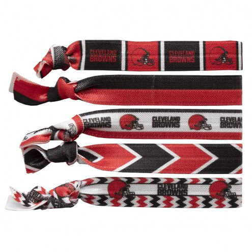 Cleveland Browns Knotted Hair Tie