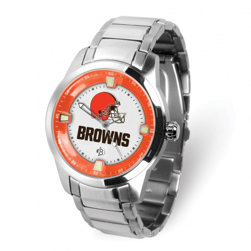 Cleveland Browns Titan Steel Men's Watch