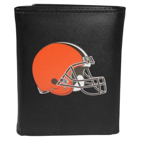 Cleveland Browns Large Logo Tri-fold Wallet