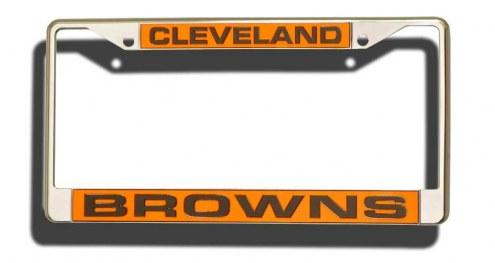 Cleveland Browns Laser Cut License Plate Frame
