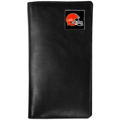 Cleveland Browns Leather Tall Wallet