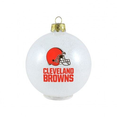 Cleveland Browns LED Color Changing Ball Ornament
