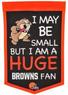 Cleveland Browns Lil Fan Traditions Banner