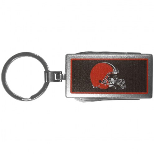 Cleveland Browns Logo Multi-tool Key Chain