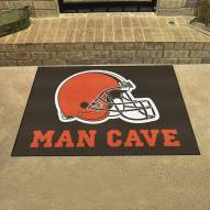 Cleveland Browns Man Cave All-Star Rug