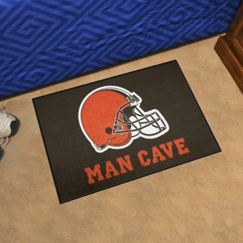 Cleveland Browns Man Cave Starter Mat