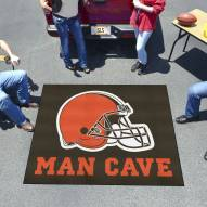 Cleveland Browns Man Cave Tailgate Mat