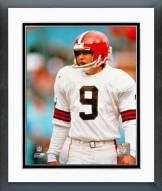 Cleveland Browns Matt Bahr Action Framed Photo