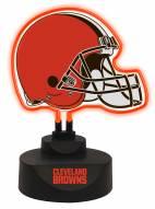 Cleveland Browns Team Logo Neon Light