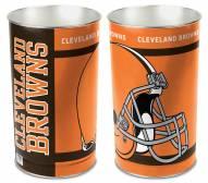 Cleveland Browns Metal Wastebasket