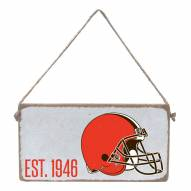 Cleveland Browns Mini Plank