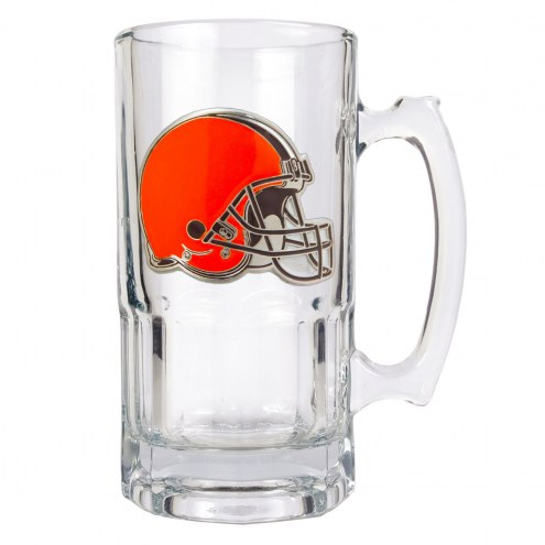 Cleveland Browns NFL 1 Liter Glass Macho Mug