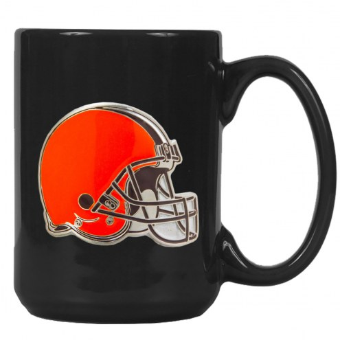 Cleveland Browns NFL 2-Piece Ceramic Coffee Mug Set