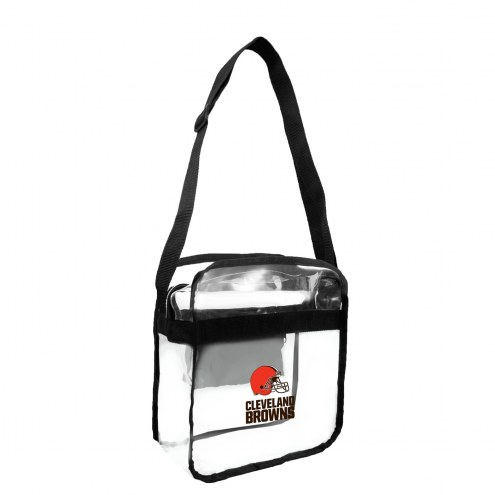 Cleveland Browns NFL Clear Crossbody Carry-All Bag