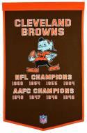Winning Streak Cleveland Browns NFL Dynasty Banner