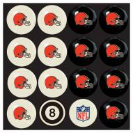 Cleveland Browns NFL Home vs. Away Pool Ball Set