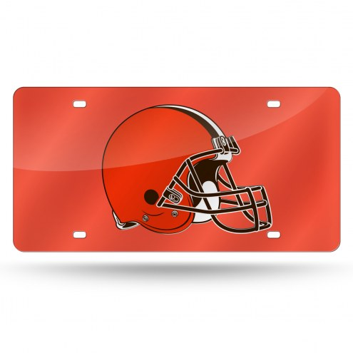 Cleveland Browns NFL Laser Cut License Plate