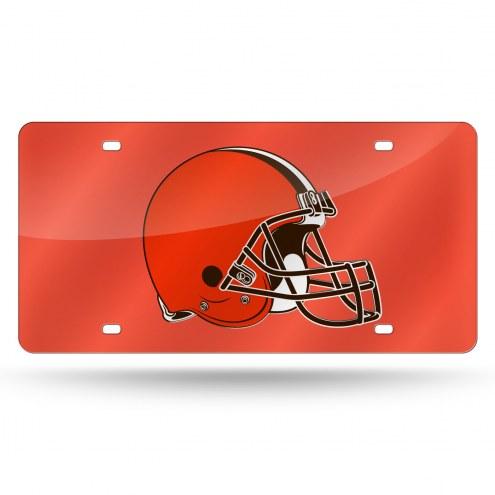 Cleveland Browns NFL Laser Cut License Plate