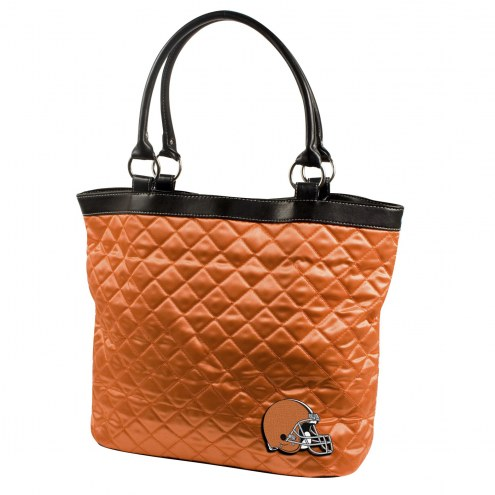 Cleveland Browns NFL Quilted Tote Bag