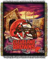 Cleveland Browns NFL Woven Tapestry Throw