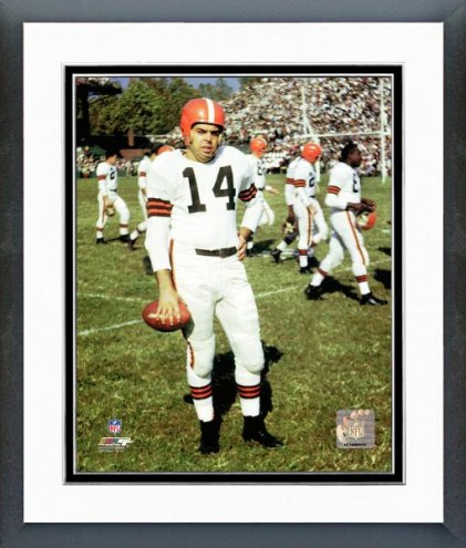 Cleveland Browns Otto Graham Posed Framed Photo
