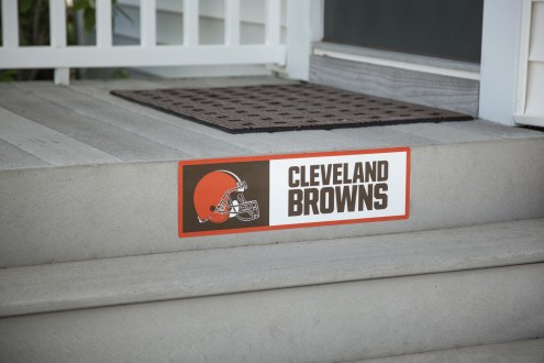 Cleveland Browns Outdoor Step Graphic