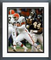 Cleveland Browns Ozzie Newsome 1990 Action Framed Photo