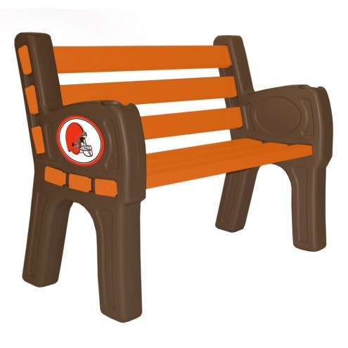 Cleveland Browns Park Bench