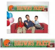 Cleveland Browns Party Banner