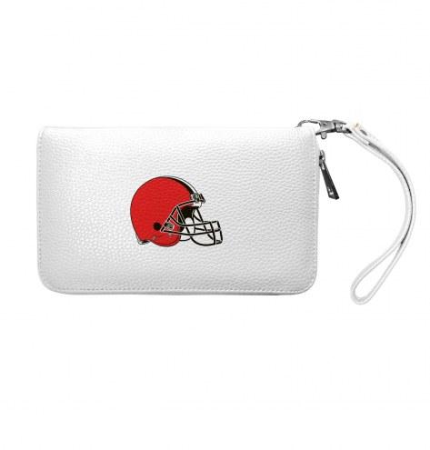 Cleveland Browns Pebble Organizer Wallet