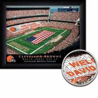 Cleveland Browns 11 x 14 Personalized Framed Stadium Print