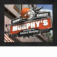 Cleveland Browns 11 x 14 Personalized Framed Sports Pub Print