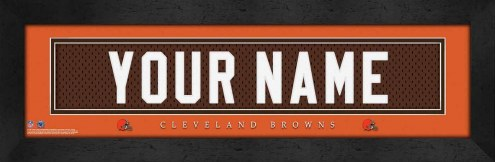 Cleveland Browns Personalized Stitched Jersey Print