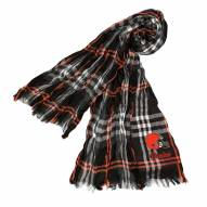 Cleveland Browns Plaid Crinkle Scarf