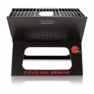 Cleveland Browns Portable Charcoal X-Grill