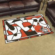 Cleveland Browns Quicksnap 4' x 6' Area Rug