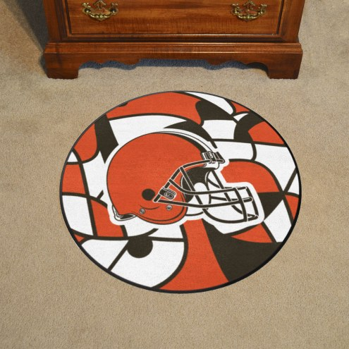 Cleveland Browns Quicksnap Rounded Mat