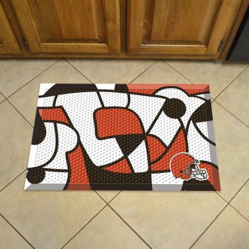 Cleveland Browns Quicksnap Scraper Door Mat