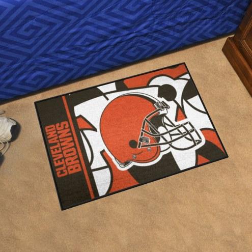 Cleveland Browns Quicksnap Starter Rug