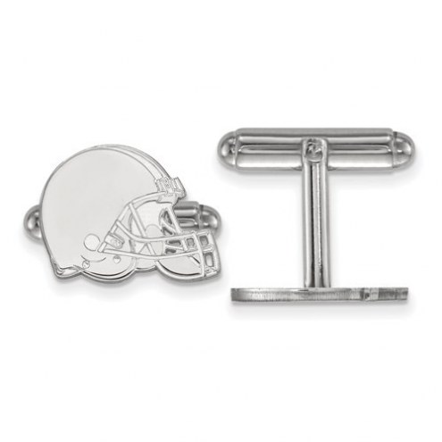 Cleveland Browns Sterling Silver Cuff Links