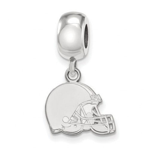 Cleveland Browns Sterling Silver Extra Small Dangle Bead Charm