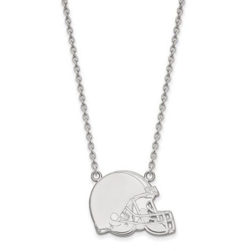 Cleveland Browns Sterling Silver Large Pendant with Necklace
