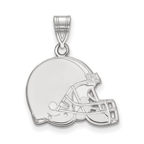 Cleveland Browns Sterling Silver Medium Pendant