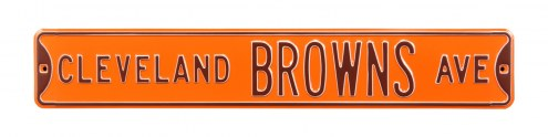 Cleveland Browns Street Sign