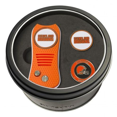 Cleveland Browns Switchfix Golf Divot Tool & Ball Markers
