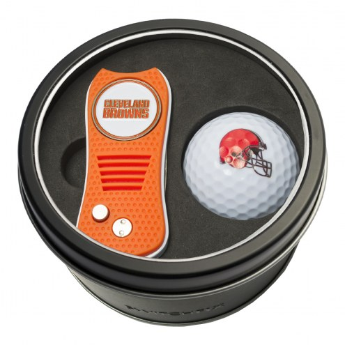 Cleveland Browns Switchfix Golf Divot Tool & Ball