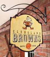 Cleveland Browns Tavern Sign