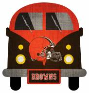 Cleveland Browns Team Bus Sign
