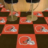 Cleveland Browns Team Carpet Tiles