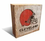 Cleveland Browns Team Logo Block